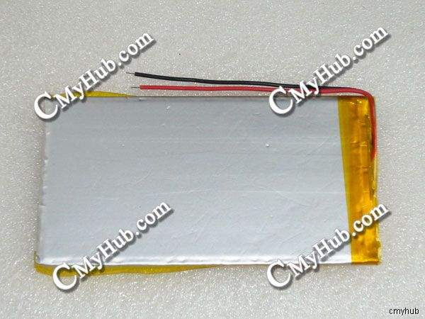3.65V 8.45wh 3555100 3555100P Lipo Lithium Polymer Rechargeable Battery