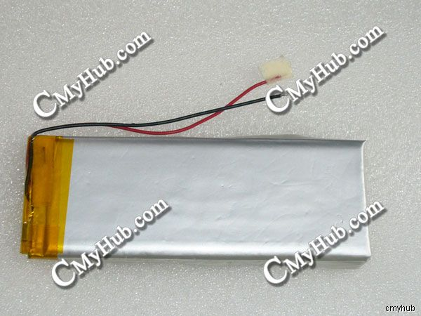 3.7V 2000mAh 553696 553696P 0553696 5.5x36x96mm Lipo Lithium Polymer Rechargeable Battery