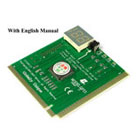 PCI / ISA Diagnostic Analyzer. 2 Digit Display