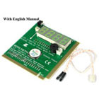 PCI / ISA Diagnostic Analyzer. 4 Digit Display