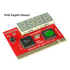 PCI Diagnostic Analyzer. 4 Digit Display