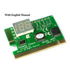 PCI Diagnostic Analyzer. 2 Digit Display