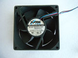 Xinruilian RDD8025B4 R44AG01 DC48V 0.10A 7824 7CM 78mm 78X78X24mm 4Pin 3Wire Cooling Fan
