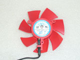 NTK FD8025U12S 14010010184 XFX HD 5850 5870 Graphic Card DC12V 0.48A 4Wire 4Pin Cooling Fan