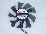 New ASUS HD6770 GT740 650Ti EAH6770 GT740 EAH5830 EAH5850 GTS450 FD8015U12S Video Graphics Card Cooling Fan