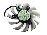 New DC12V 0.35A Everflow T128010SU DC12V 0.35A 7CM 75mm 75x75x10mm Graphics Cooling Fan