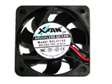 New Xinruilian XFAN RDL4010S DC12V 0.06A 4010 4CM 40mm 40x40x10mm 40*10mm 2Wire 2Pin Cooling Fan