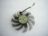 New Gigabyte N470SO N580 GTX460 470 570 580 HD5870 T128010SM Video Graphics Card Cooling Fan