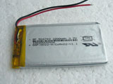3.7V 2200mAh 504783P 054783P Lipo Lithium Polymer Rechargeable Battery