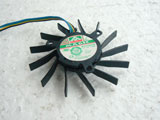 Protechnic MGT6012ZR W15 DC12V 0.43A 6013 6CM 60mm 60X60x13mm 4Pin 4Wire Graphics Cooling Fan