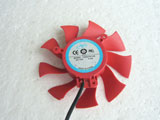 NTK FD8015U12S DC12V 0.5A 8025 8CM 80mm 80X80X25mm 2Pin 2Wire Graphics Cooling Fan