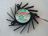 Protechnic MGA7012ZR-020 MGA7012ZR-020 DC12V 0.63A 2Pin 2Wire Graphics Cooling Fan