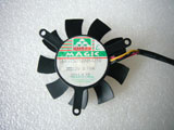 Protechnic MGT5012XB O10 DC12V 0.19A 3Wire Graphics Cooling Fan