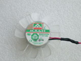 Protechnic MGA5012LR O10 DC12V 0.08A 4610 4CM 46mm 46X46X10mm 2Pin 2Wire Graphics Cooling Fan