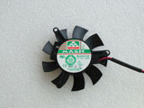 Protechnic MGA5012LF A10 DC12V 0.08A 4510 4CM 45mm 45X45X10mm 2Pin 2Wire Graphics Cooling Fan
