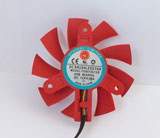 NTK FD8015U12S DC12V 0.50A 4Pin 4Wire Graphics Cooling Fan
