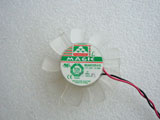 Protechnic MGA5012XR A10 DC12V 0.19A 4510 4CM 45mm45X45X10mm 2Pin 2Wire Graphics Cooling Fan