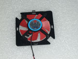 Dell AMD HD7350 FIREPRO 2270 NTK FD5010U12S NDB DC12V 0.22A 2Pin ATI GPU Video Graphics Card Cooling Fan