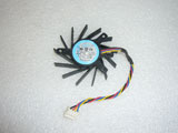 NTK PLB05710B12H DC12V 0.20A 5010 5CM 50mm 50X50X10mm 4Pin 4Wire Graphics Cooling Fan
