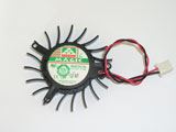 Protechnic MGA5012XR O10 DC12V 0.19A 5010 5CM 50mm 50X50X10mm 2Pin 2Wire Graphics Cooling Fan
