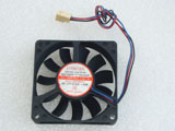EVERCOOL EC7015LL12CA DC12V 0.12A 1.44W 7015 7CM 70MM 70X70X15MM 3pin Cooling Fan