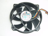 SilentMatic SFC9225LU-12P DC12V 0.22A 9525 4Pin 95mm 95x95x25mm Cooling FAN