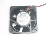 MECHATRONICS F6025H12B RH DC12V 0.140A 6025 6CM 60MM 60X60X25MM 2pin Cooling Fan