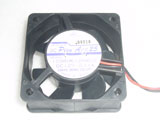 SANYO 109R0612H402 DC12V 0.11A 6025 6CM 60mm 60x60x25mm 4pin 2Wire Cooling Fan