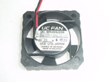 UC FAN F412R-24LB-01 DC24V 4010 4CM 40mm 40x40x10mm 2Pin Cooling Fan