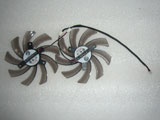 Set of 2pcs Gigabyte 9510 POWER LOGIC PLD10010S12H DC12V 0.20A Cooling Fan