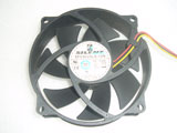 SilentMatic SFC9225LS-12N DC12V 0.22A 95x95x25mm 3Pin 8Screws Hole Computer CPU Cooling Fan