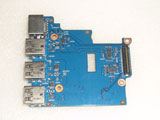 HP 650 G1 6050A2566801-USB-A03 Card Reader Ethernet USB Port Board 6050A2566801