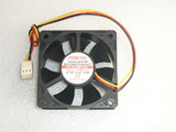 EVERCOOL EC6020H12C DC12V 0.21A 2.52W 6020 6CM 60MM 60X60X20MM 3pin Cooling Fan