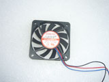 EVERCOOL EC6010HH12C DC12V 0.2A 2.4W 6010 6CM 60MM 60X60X10MM 3pin Cooling Fan