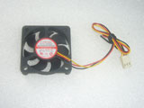 EVERCOOL EC5010H112CA DC12V 0.12A 5010 5CM 50MM 50X50X10MM 3pin Cooling Fan