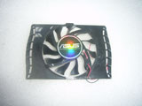 ASUS EAH4830 4650 4670 EN9600 9500 Yeston G9600GT 2Pin Video Graphics Card Cooling Fan