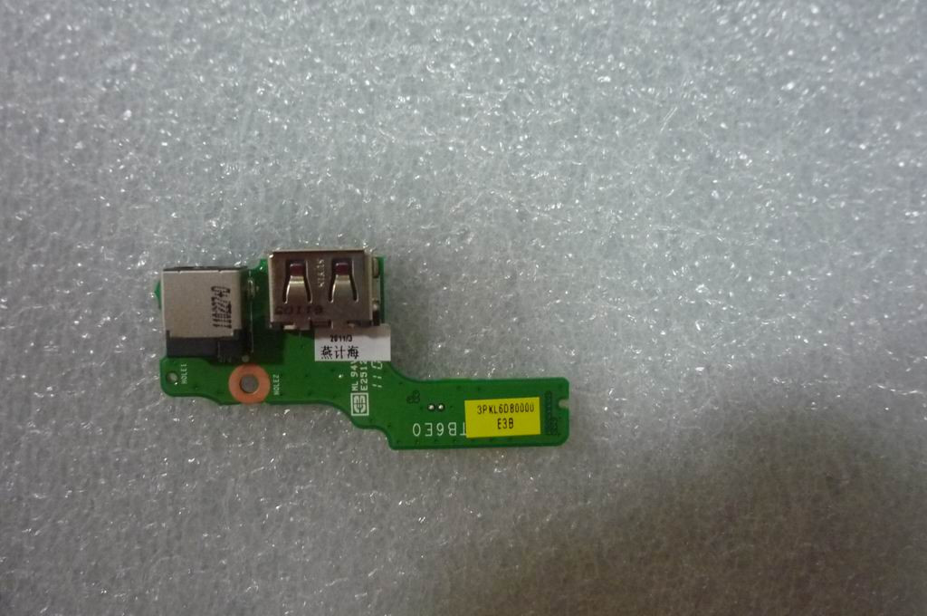 Lenovo IdeaPad Z470 DA0KL6TB6E0 3PKL60B0000 Power DC Jack USB Port Connector Board
