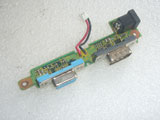 Panasonic ToughBook CF-18 DC-IN Power Jack VGA COM Port Board w/Cable DFUP1395ZA(3)
