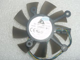 ASUS 8600 9800g 9600 GTS450 260 Delta EFB0812HB AD92  DC12V 0.25A 4Wire Graphics Card Cooling Fan
