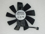 Sapphire R9 380 2G D5 R9 380 4G D5 OC GAA8B2U PFTA 100mm 100*100*15mm Video Graphics Card Cooling Fan