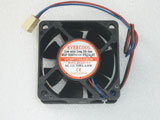 EVERCOOL EC6025SL12CA DC12V 0.08A 0.96w 6020 6CM 60MM 60x60x20 3pin 3wire Cooling Fan