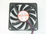EVERCOOL EC7010M12BA DC12V 0.25A 7010 7CM 70MM 70x70x10 3pin 3wire Cooling Fan