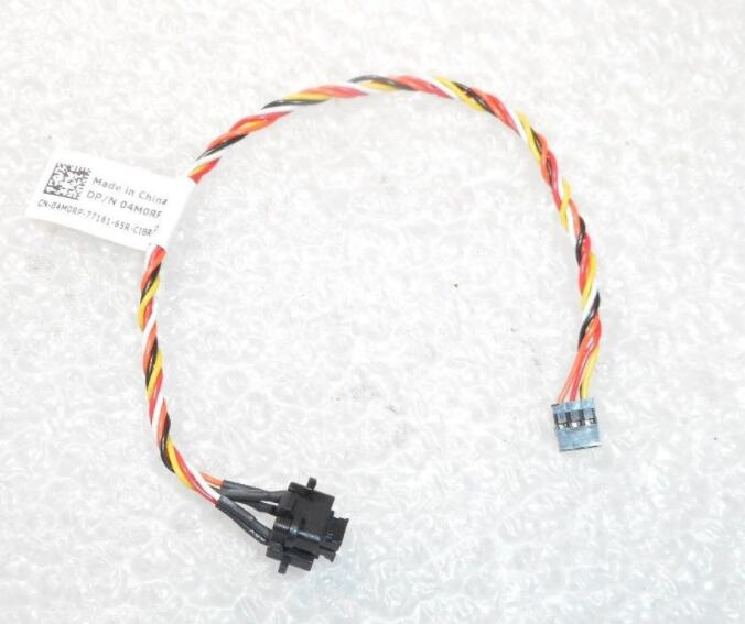 New Dell OptiPlex 3040 5040 7040 MT SFF 04M0RP 4M0RP Power ON/OFF Switch Button LED Assembly with Cable