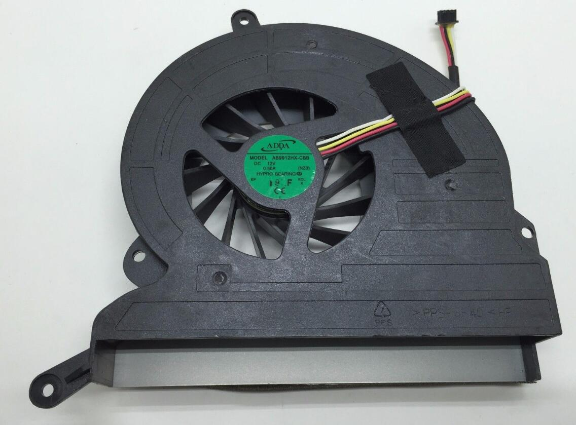 New HP ADDA AB9912HX-CBB NZ3 MF60151V1-C010-S9A DC12V 0.50A 46NZ3FATP00 AIO All In One Cooling Fan