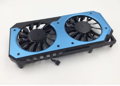 New MAXSUN GTX950 2G giant PLA08015S12HH DC12V 0.35A 4Pin 4Wire Graphics Card GPU Cooling Fan