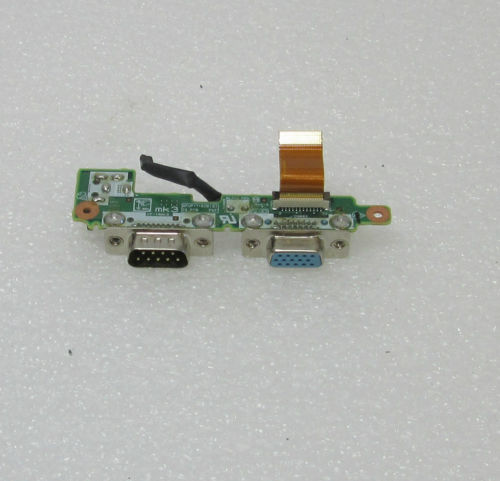 Panasonic Toughbook CF-19 DFUP1530ZA-3 Serial DC-IN Power Jack VGA COM Port Board w/Cable