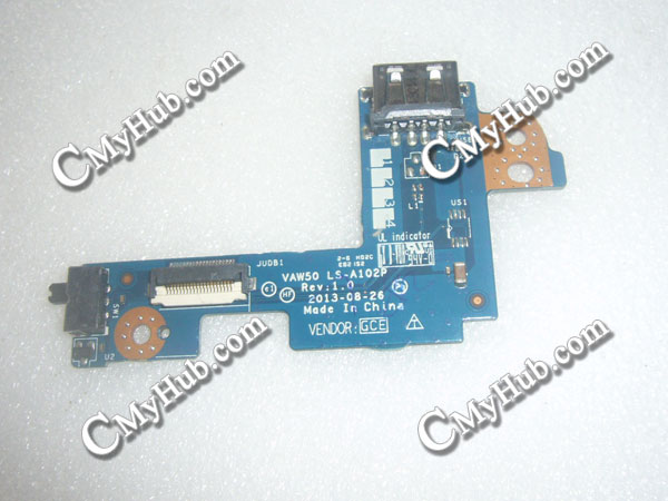 Dell Latitude E5540  LS-A102P USB ON/OFF Switch Sub Connector Board