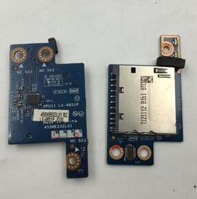 HP TouchSmart M6-K M6-K000 ENVY 14 VENDOR LS-9312P 455MAG32L01 LS-9851P Memory SD Card Reader Sub Board