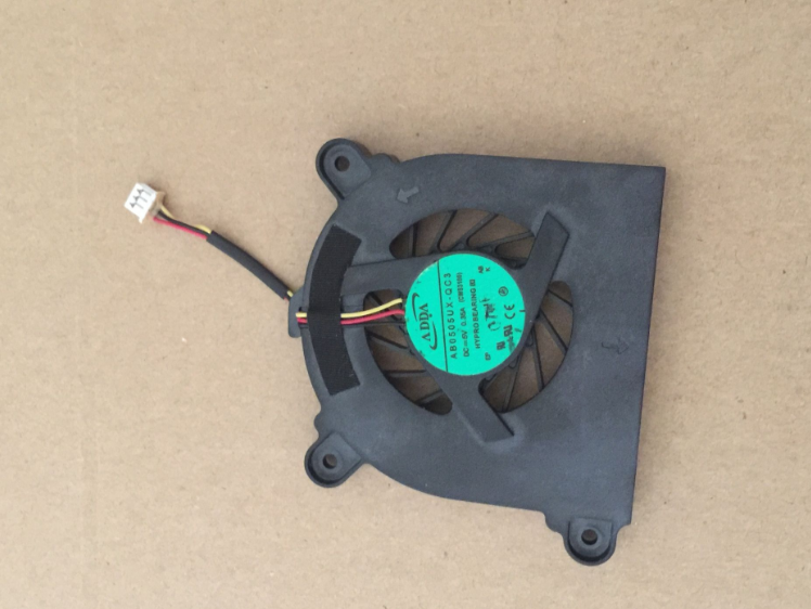ViewSonic VNB130 6-23-AS310-011 ADDA AB050UX-QC3 CWS3100 DC5V 0.35A 3Pin 3Wire Notebook CPU Cooling Fan