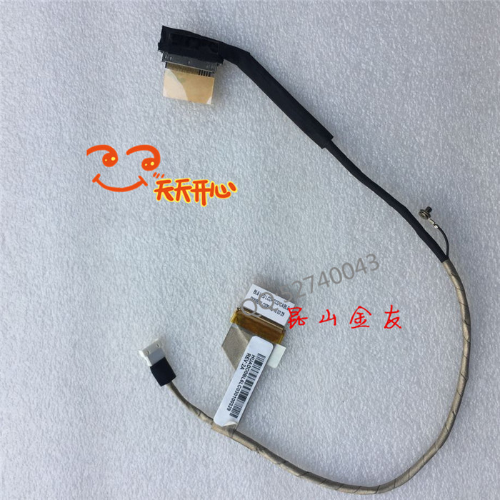 Toshiba L650 L655 L650D L655D DD0BL6LC030  LED LCD Screen LVDS VIDEO FLEX Cable